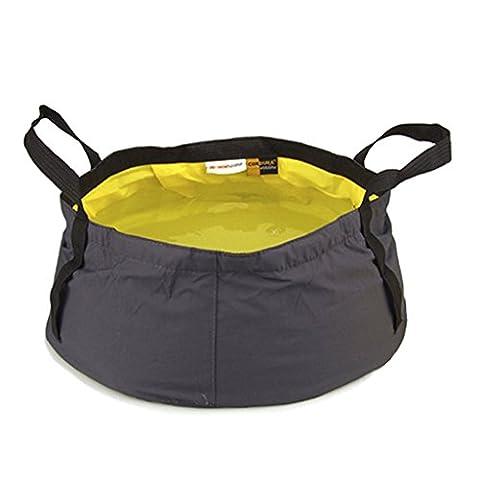 8.5L/12L Waschbecken Spülbecken Faltschüssel für Outdoor Camping 4 Farbe
