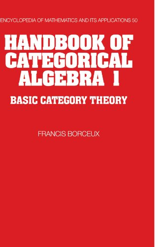 Handbook of Categorical Algebra PDF Books