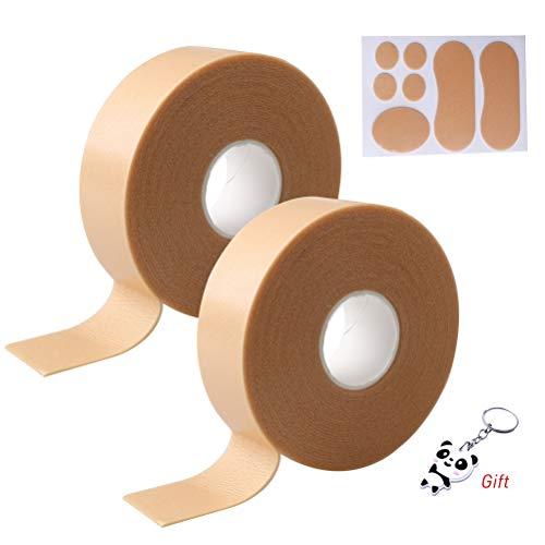 Nuoshen - Juego de 3 cintas para talón de pie