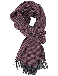 Écharpe d hiver en laine pour homme Motif coq Rouge 48 x ... 1eb11e53147