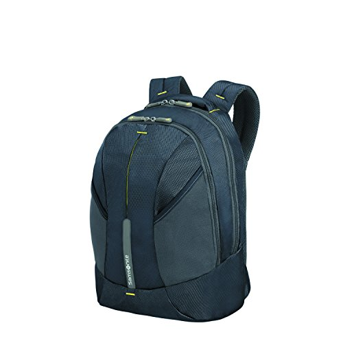 SAMSONITE 4mation - Tablet Backpack Rucksack, 39 cm, 21 L, Midnight Blue/Yellow