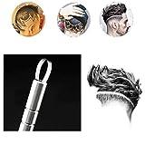 10 STÜCKE Multifunktions Haarschneider Klingen Pro Salon Rasierklingen Edelstahl Späne Augenbrauen Klingen für Gravur Stift