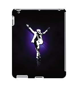 Fuson 3D Printed Michael Jackson Designer Back Case Cover for Apple iPad 3 - D690