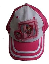 Disney - Casquette Charlotte aux Fraises rose et blanche 52 cm - 52 cm