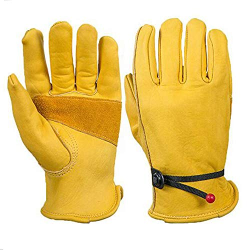 guanti da lavoro pelle Guanti da lavoro interamente in pelle