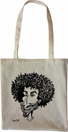 Mister Merchandise Tasche Dante Stofftasche , Farbe: Schwarz Natur