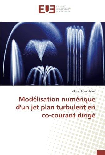 Modélisation numérique d'un jet plan turbulent en co-courant dirigé par Ahlem Chouchène