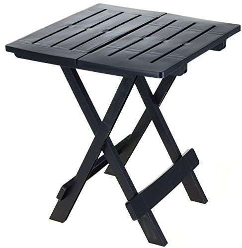 Tavolo pieghevole adige, piccolo tavolo da giardino o campeggio, perfetto come tavolino pieghevole