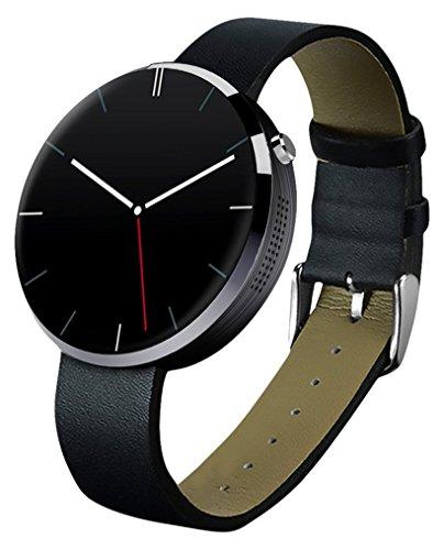 HANNSPREE 1.22-Inch Pulse OLED Smartwatch - Black
