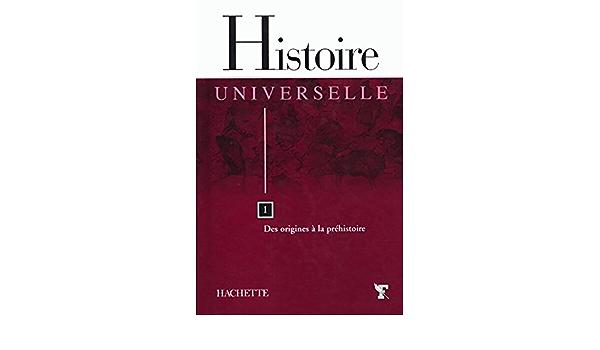 Couverture de Histoire Universelle
