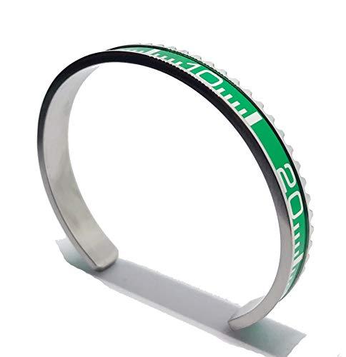 Proton Jewelers Armreif Rolex Submariner grün