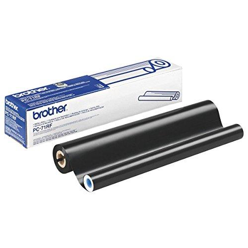 Brother Original Thermotransferrolle schwarz (für Brother FAXT72, FAX T74, FAX T76, FAX T78, FAX T7 Plus, FAX T92, FAX T94, FAX T96, FAX T98, FAX T102, FAX T104, FAX T106)