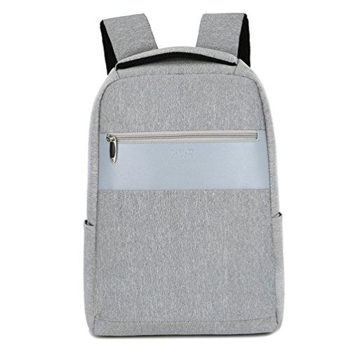 MTTLS Laptop Rucksack 15,6 Zoll Schule Bookbag Slim Business-Rucksack Für Notebook-Computer HP Lenovo Samsung Sony Und Arbeit,Gray 190 Ipod