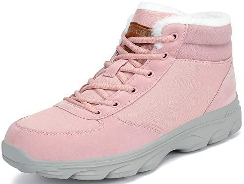 Mishansha Botas de Invierno Mujer Zapatos de Nieve Calientes Antideslizante Outdoor Ankle Boots Forro...