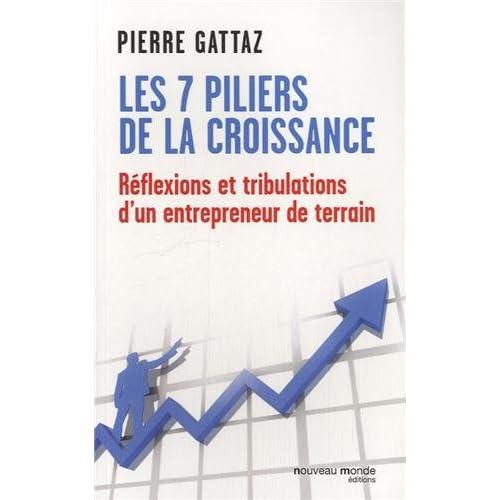 Les 7 piliers de la croissance : Réflexions et tribulations d'un entrepreneur de terrain