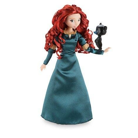 DISNEY STORE 12 MERIDA CLASSIC DOLL WITH BEAR by Disney