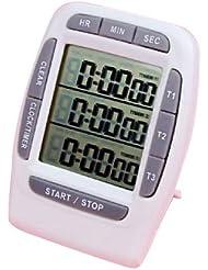 Timer - SODIAL(R) Portable cronometro Interval Timer - fare qualsiasi allenamento piu' facile per pianificare ed eseguire con piu' precisione e coerenza