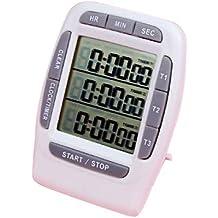 SODIAL(R) Portatil Cronometro Temporizador De Intervalos
