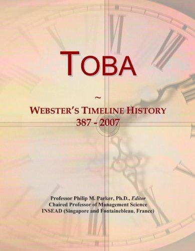 Toba: Webster's Timeline History, 387 - 2007