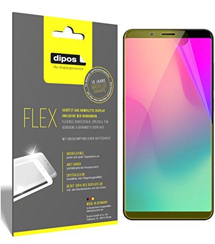 dipos I 3X Schutzfolie 100prozent passend für Nubia Z18 Mini Folie (Vollständige Bildschirmabdeckung) Bildschirmschutzfolie