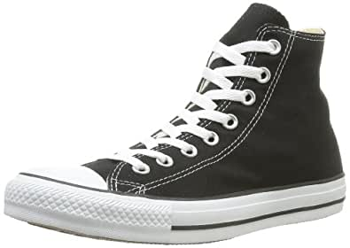 Converse Unisex-Adult Chuck Taylor All Star Core Hi Trainers Black/White 3 UK