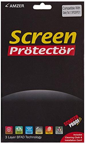 Amzer amz95864Kristal Clear Screen Guard Scratch Protector Shield für Samsung Galaxy Tab 37.0GT-P3200, GT-P3210–Retail Verpackung, transparent