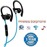 Drumstone QC10 Jogger Bluetooth Headphone with Stereo Sound for All Android or iPhone Devices