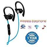 Drumstone QC10 Jogger Bluetooth Headphone with Stereo Sound for All Android or iPhone