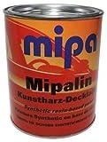 MIPA Mipalin Fahrzeuglack Kunstharz-Lack RAL 9005 Tiefschwarz Standardton