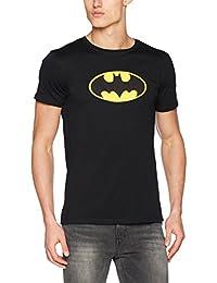 MERCHCODE Men's Batman Logo Tee T-Shirt