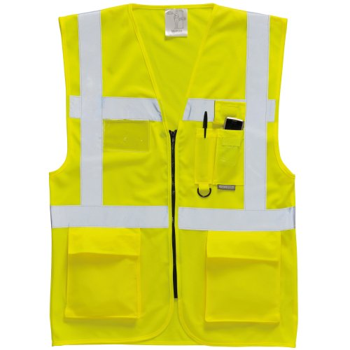 portwest-hi-vis-executive-manager-vest-safetywear-l-yellow