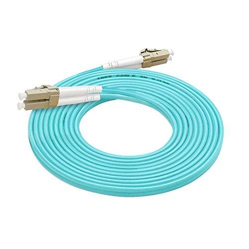 LC auf LC Duplex OM310g 50/125multiMode Glasfaser Patchkabel 15m 3.0mm (15 Meter Glasfaser Patch-kabel)