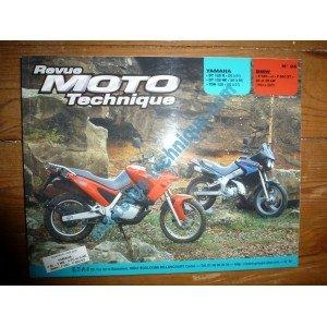 REVUE MOTO TECHNIQUE YAMAHA DT125R de 1993 à 2001 DT125RE de 1989 à 1999 TDR125 de 1993 à 2001 BMW F650, F650ST de 1994 à 2001 RRMT0096.5 – Réédition