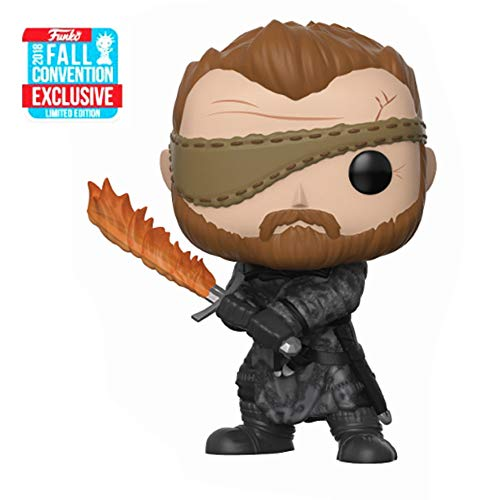 Funko Pop! Limited Edition 2018 Fall Convention Exclusive - Vinyl Figure Beric Dondarrion Game of The Thrones (34621)