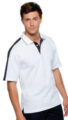 Kustom Kit - Sporting Polo Black/Orange