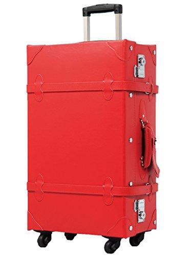 [グリフィンランド]_Griffinland TSAロック搭載 キャリーケース おしゃれ 超軽量 かわいい トランクケース ショコラ 【アンティーク調】
