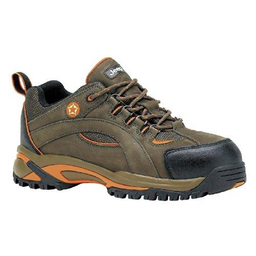 Chaussures de sécurité basse RIDLEY Marron EN ISO 20345 S3 SRC Vert