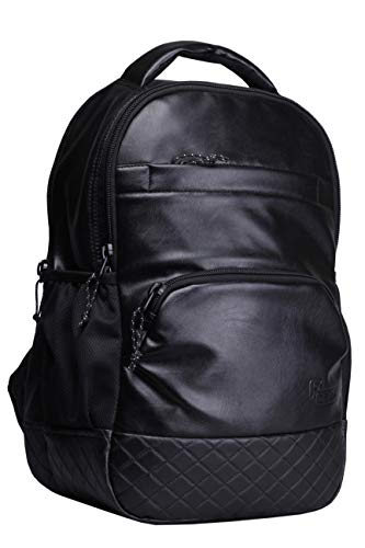 5. F Gear Luxur Black 25 liter Laptop Backpack