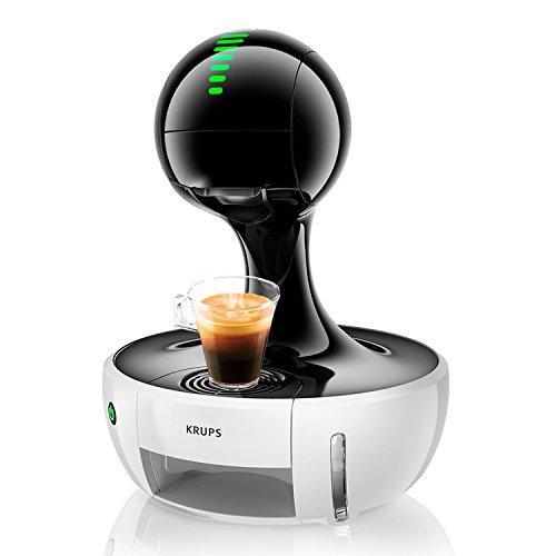 Krups Nescafé Dolce Gusto Drop KP3501 Kapsel Kaffeemaschine (für heiße und kalte Getränke, 15 bar Pumpendruck, automatische Wasserdosierung, Flow-Stop, Sensor Touch, 0,8 l Wassertank) weiß