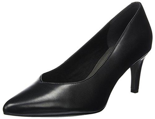 Tamaris 22430, Scarpe con Tacco Donna Nero (Black Leather)