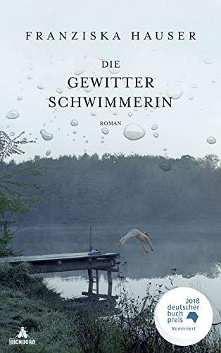 Buchseite und Rezensionen zu 'Die Gewitterschwimmerin' von Franziska Hauser