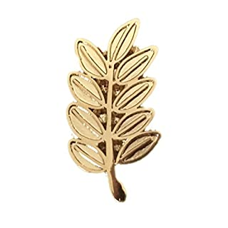 HIRAM - Masonic Acacia Leaf Pin - Small and Discreet