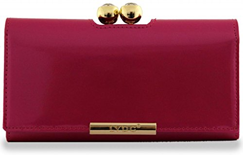 - 419WxOQ1sIL - Kukubird LYDC Shiny Crystal Bubble matinee Ladies wallet, purse – PLUM
