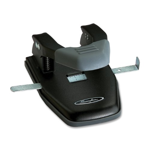 28-sheet-comfort-handle-steel-two-hole-punch-1-4-holes-black