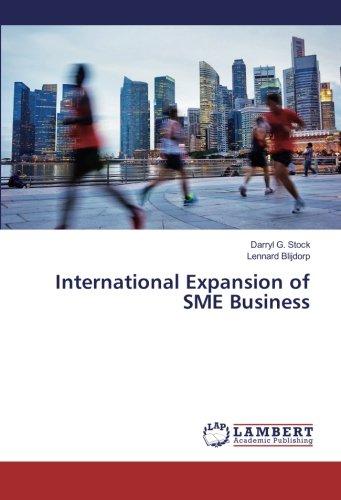 International Expansion of SME Business (Business Expansion International)