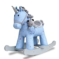 Little Bird Told Me - Moonbeam & Rae - Infant Unicorn Rocking Horse - 9 Months +