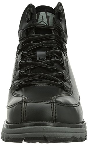 Caterpillar Highbury, Scarponcini Uomo Nero (Schwarz (MENS BLACK)
