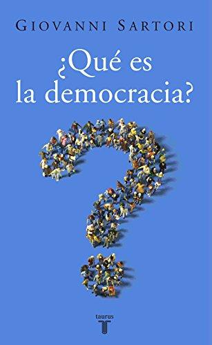 ¿Qué es la democracia? (Pensamiento) por Giovanni Sartori