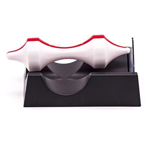 JLERU Levitazione magnetica Anti Gravity campo Maglev giocattoli giocattolo mandrino (bianco rosso)