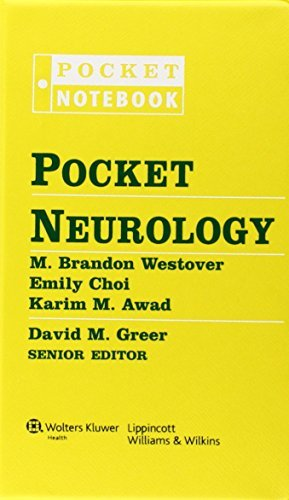 Pocket Neurology (Pocket Notebooks (Wolters Kluwer)) (Pocket Notebook Series) by David M. Greer (2010-07-01)
